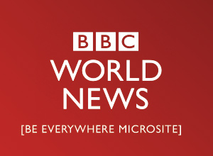 BBC World News Microsite